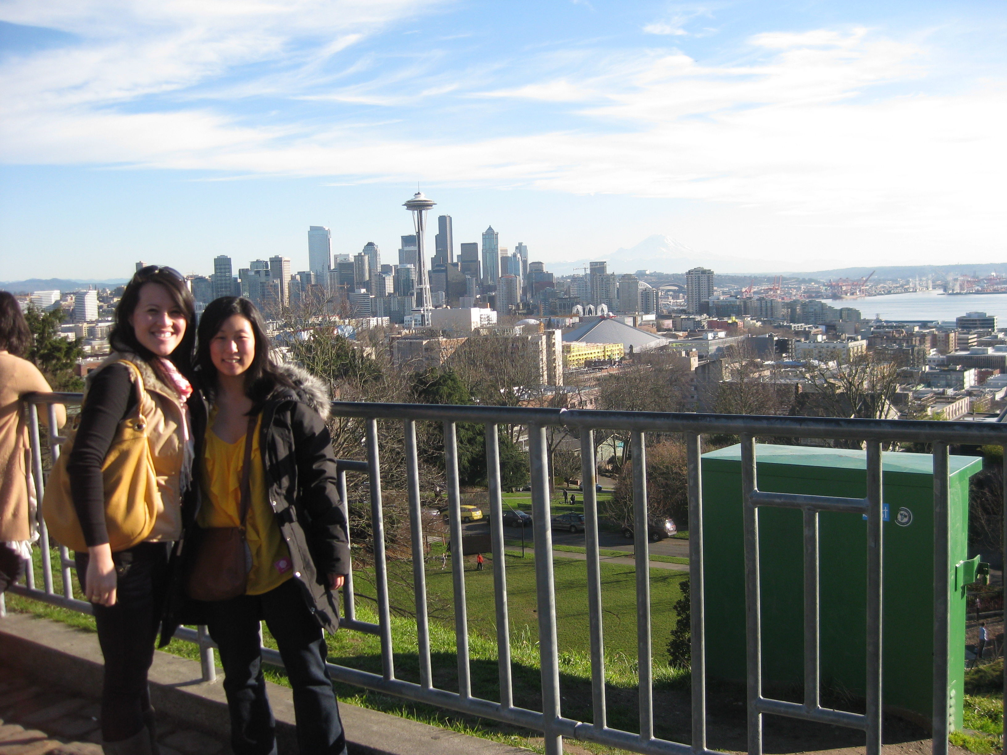 visiting seattle!