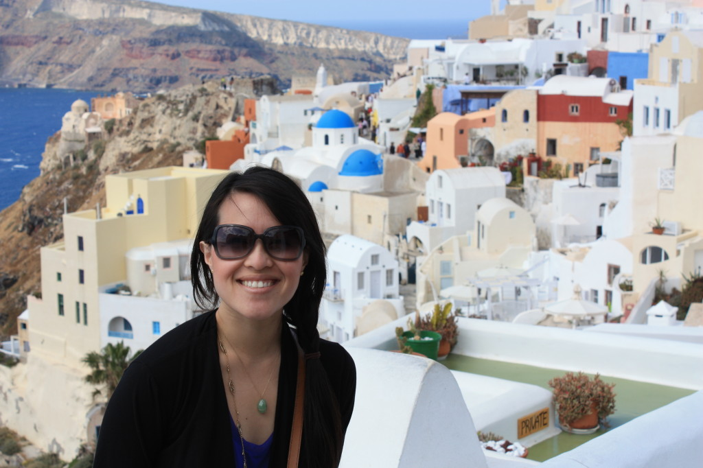 Exploring beautiful Oia, Santorini