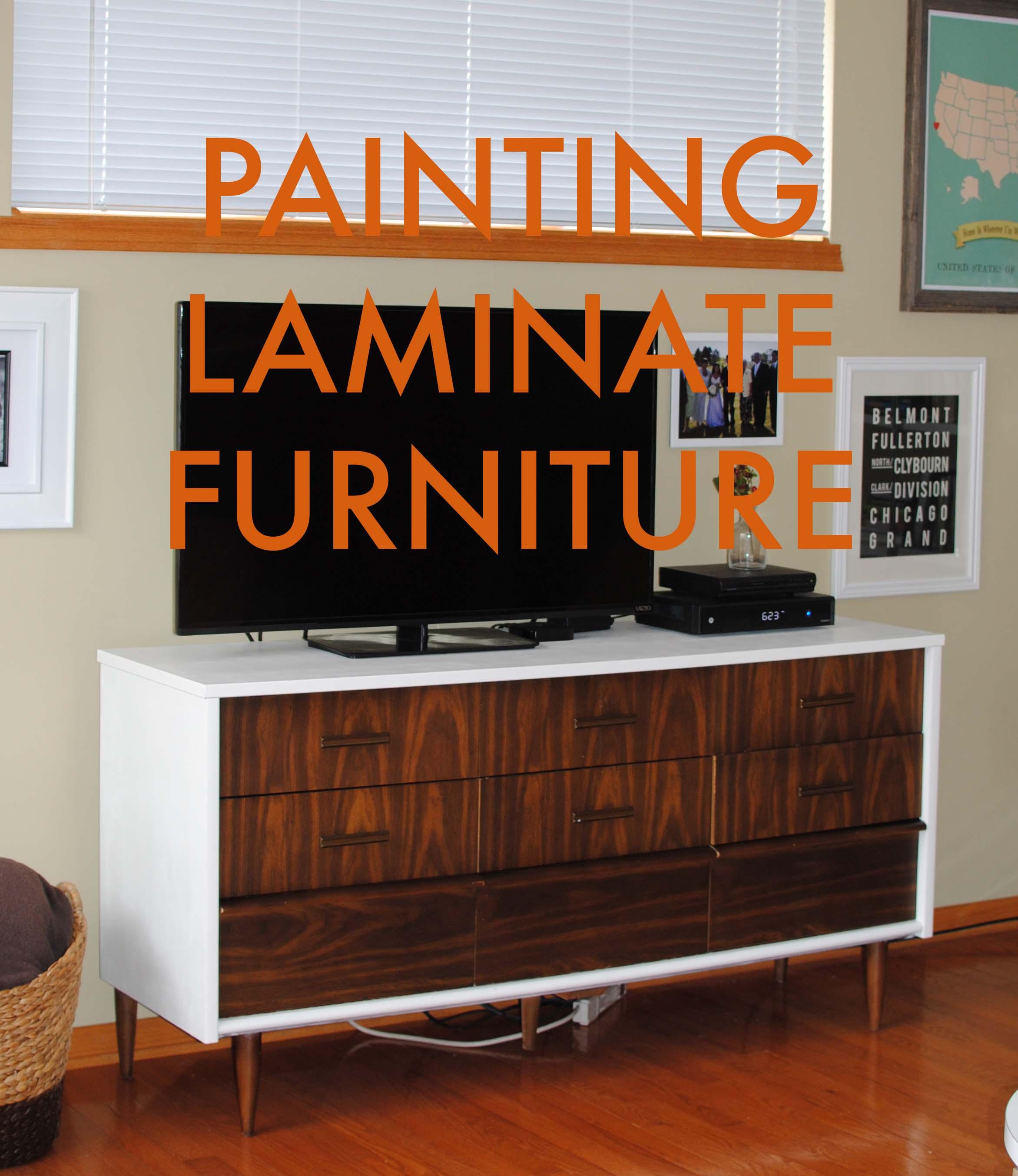 Etonnant Painting Laminate Furniture